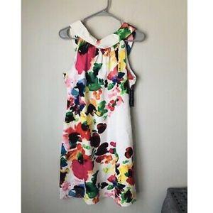 NWT Jessica Howard Missy Multicolor Dress JH2M7652
